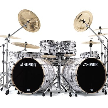 Dw Drum Set Double Bass